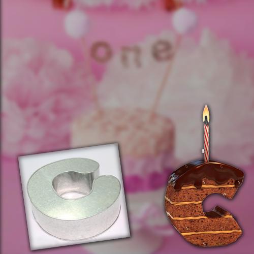Alphabet Cake Mould